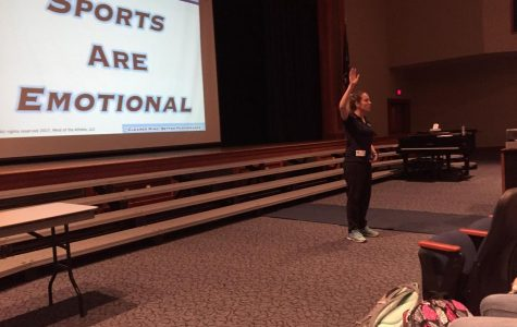Mind of an Athlete Seminars Come to Our School