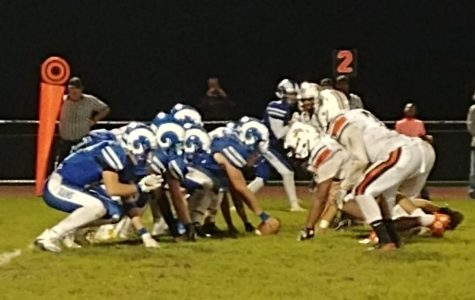Varsity Football Suffers First Home Loss of the Season