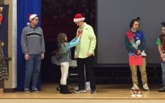 "Theater Class Performs ""The Grinch"" to Fawn Elementary Students"