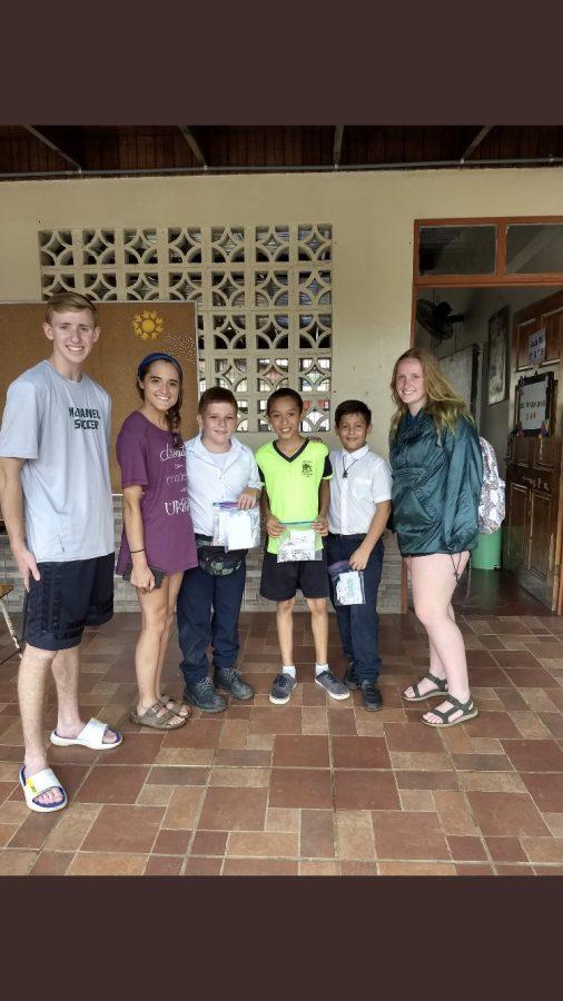 Student's Costa Rica Adventures