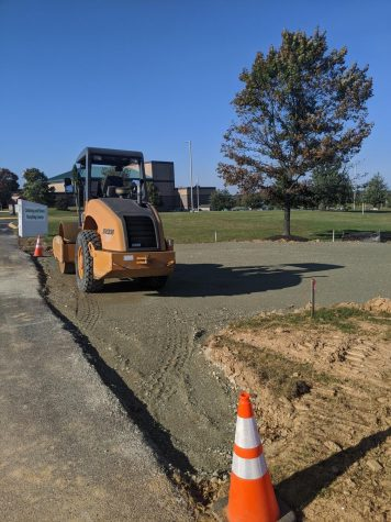 New Parking Lot on Campus
